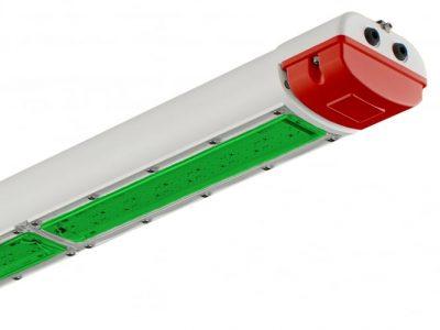 Raytec SPARTAN LINEAR WL168 Safety Shower 4ft Linear Industrial Intelligent Emergency 519nm 62W
